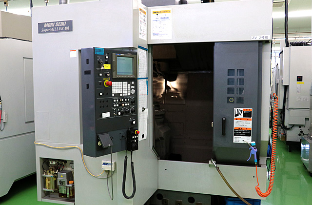 5-Axis Machining Centers ZV400