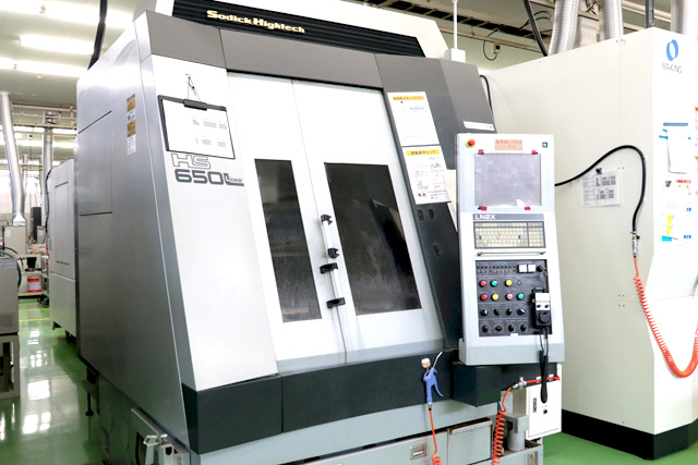 High-Speed Linear Machining Centers HS650L