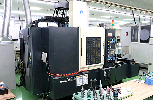 3-Axis Machining Centers V55