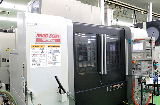 3-Axis Machining Centers NVX5100