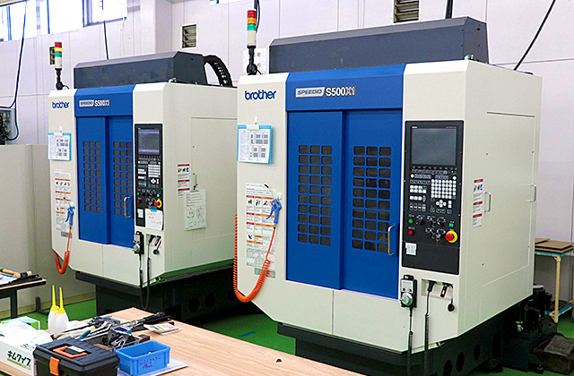 3-Axis Machining Centers S500X1